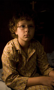 Aidan Gould in the funny camp movie The Rainbow Tribe